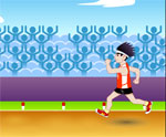 спортни игра 100 метра бягане
