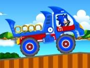 разни игра Соник камион