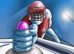 спортни игра Въздушен хокей
