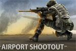 бойни игра Стрелец на летището