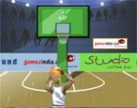спортни игра Три баскетболни точки