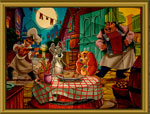 пъзели игра Романтична вечеря
