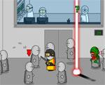 аркадни игра Опасен лазер