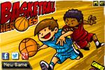 спортни игра Баскетболни герои