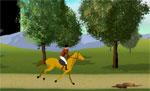 спортни игра Надбягване с коне