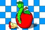 IQ игра Червивата ябълка