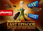 бойни игра Bush Wars Attack of the Shoes