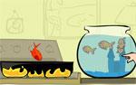 разни игра Спаси рибите