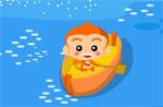 разни игра Маймунска лодка