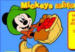 разни игра Мики Маус събира ябълки