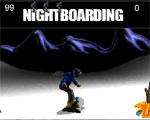 спортни игра Сноуборд през нощта