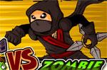 разни игра Нинджа срещу Зомбита