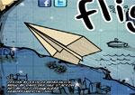 разни игра Хартиен самолет