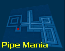 IQ игра Pipe Mania