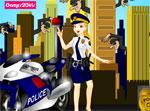 фънски игра Жена полицай