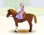 фънски игра Яздене на кон