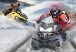 спортни игра Снежно Състезание