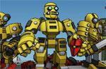 двубои игра Роботи герои