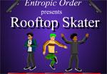 спортни игра Скейт по покрива