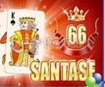на карти игра Сантасе