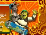 фънски игра Шрек на скейтборд