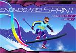 спортни игра Ски спускане