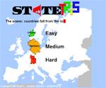 IQ игра Открий държавите