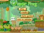 фънски игра Супер жаба