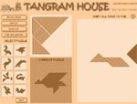 IQ игра Tangram House