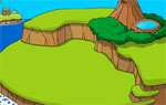разни игра Разтящ остров