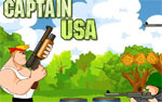 бойни игра Капитан USA