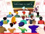 фънски игра Кой не слуша на лекции
