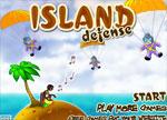бойни игра Остров Отбрана