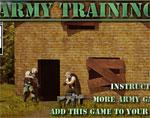 бойни игра Тренировка в армията